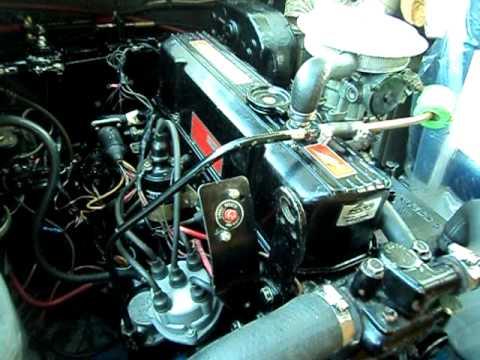 Motor Mercruiser 120 HP.AVI - YouTube