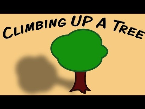 Climbing Up A Tree (Earth Day/Arbor Day movement song for children)