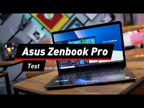 Asus Zenbook Pro im Test: Top-Technik an Bord