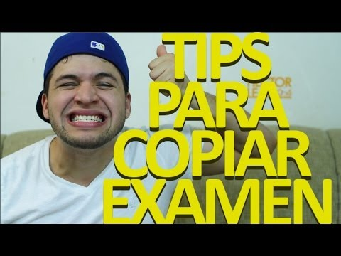 TIPS PARA COPIAR EN UN EXAMEN!!!