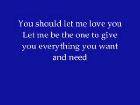 Mario - Let Me Love You with lyrics