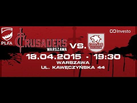 Crusaders Warszawa 7 vs 20 Cougars Szczecin (PLFA I)