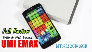 Umi Emax MTK6752 1.7GHz Octa Core 5.5 Inch FHD Screen