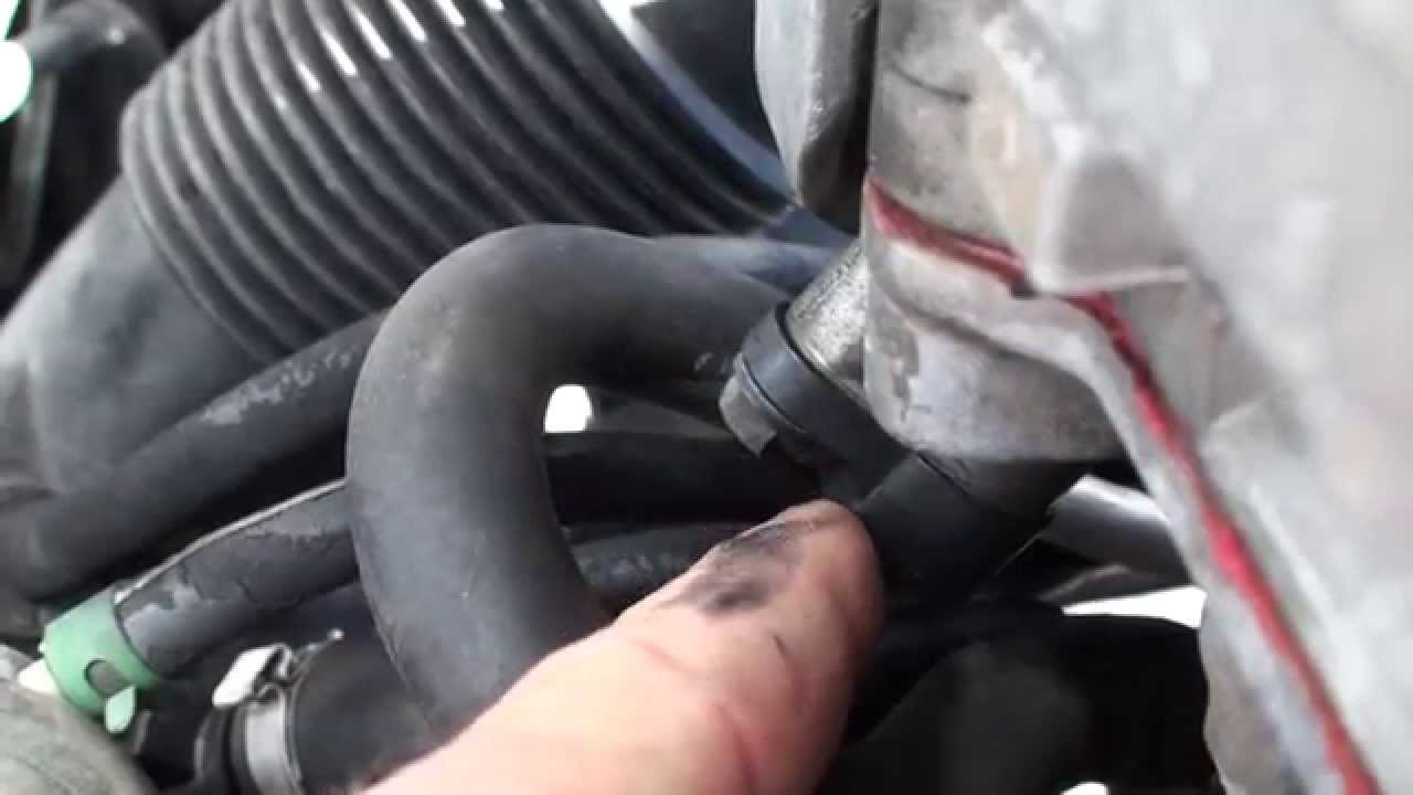 volvo c70 camshaft sensor location - YouTube