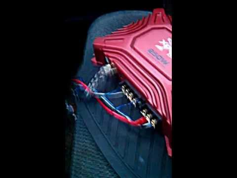 How to Hook Up PA system in your vehicle with an amp!!!!!!!LOUD!