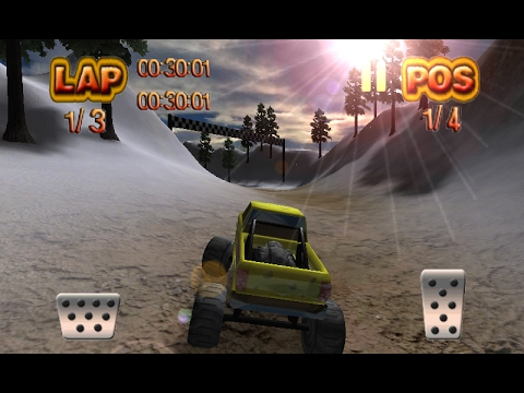 Monster Wheels Offroad - 4x4 Truck Racing Games - Videos Games for Kids - Girls - Baby Android