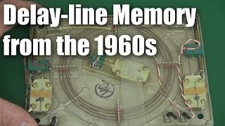 Old computer tech:  delay-line memory