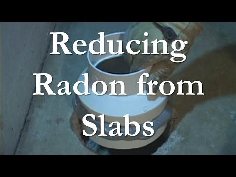 Treating Slabs and Basements for Radon