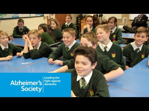 Dementia Friends in class - Alzheimer's Society