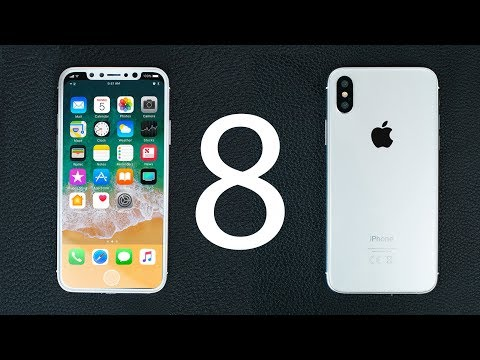 iPhone 8 (White) - PREVIEW!