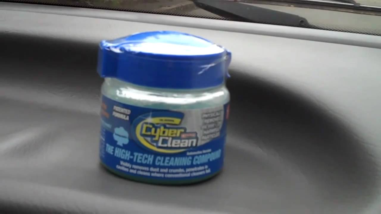 cyber clean car interior cleaning compound for hard to reach places youtube. Black Bedroom Furniture Sets. Home Design Ideas