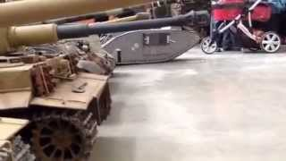 Armortek 1/6th scale models running at Tiger Day, The Tank