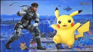 Nairo (Snake) vs ESAM (Pikachu) - Super Smash Bros. Ultimate