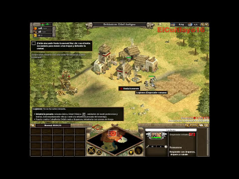 Rise Of Nations (Gameplay) Tutorial 1 - Boadicea [HD]