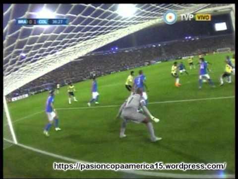 (Relator Brasilero)  Colombia 1 Brasil 0 (Radio Gaucha)  Copa America 2015