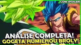 BROLY FOI HUMILHADO? FUSÃO DO GOGETA FOI FORÇADA! Análise Dragon Ball Super Broly