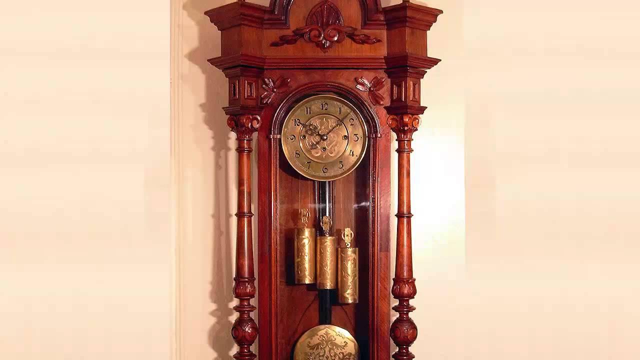 Grandfather's clock, ticking 10 hours [ Sleep Music