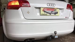 Audi A3 Sportback 2.0 Turbo + Downpipe + Sem Intermediário Diferença Ronco - New Escapamentos