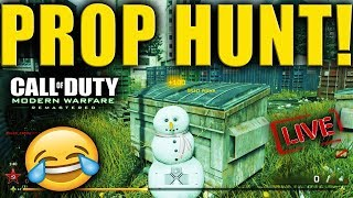 MWR PROP HUNT LIVE! ALL THE BEST HIDING SPOTS and STRATEGYS!