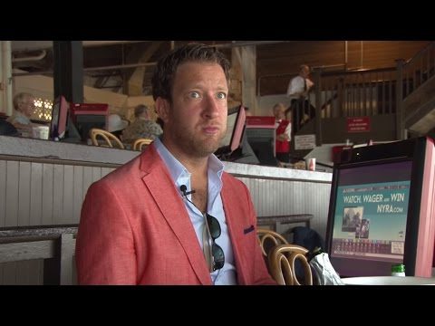 Watch Barstool Sports' Founder Race a Horse at Saratoga: Part I
