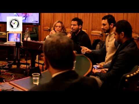 Dr Mabruk Derbash addresses anti-Nato Libya event in British Parliament
