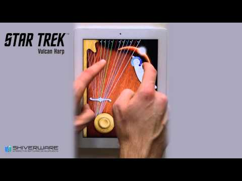 Star Trek™ Vulcan Harp Features