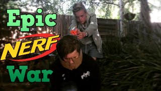 BEST FRIEND NERF WAR!