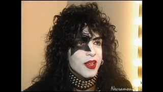 KISS - Paul Stanley Interview 1989 - With Makeup!