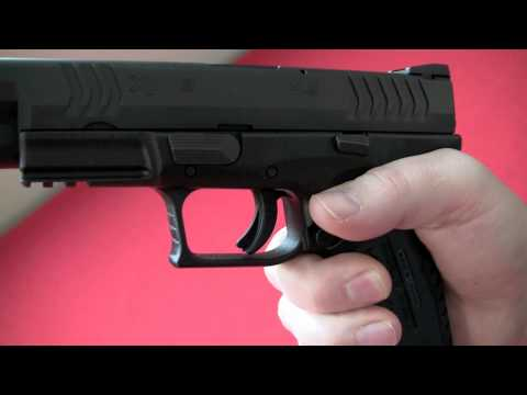 Springfield Armory XDm Review. Crucible Arms