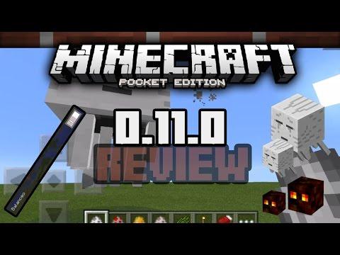 Minecraft Pocket Edition 0.11.0 Beta 2 Review Todo Español Descarga