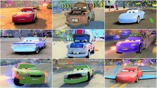 Cars 3: Driven to Win - All Characters/Cars Race Gameplay Compilation HD