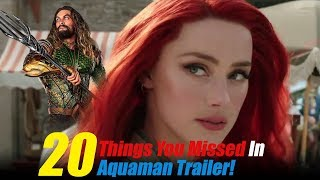 Aquaman - Official Trailer 1 Breakdown And Analysis in Hindi | 20 Things That You Missed In Aquaman