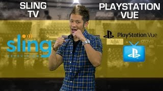 Sling TV vs. PlayStation Vue: 1 year later (CNET Prizefight)