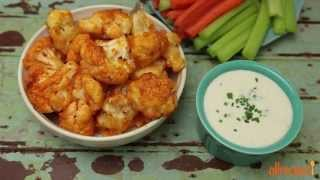 Appetizer  Recipes - How To Make Buffalo Cauliflower