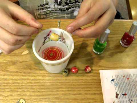 Dip and swirl nail polish crafts youtube for Crafts using nail polish