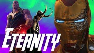 The Quantum Iron Man Plan & Thanos vs The Living Tribunal & Cosmic Gods - Avengers 4