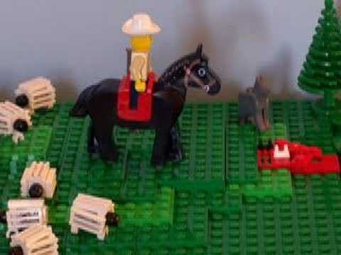 Lego Cowboy Gay Sex video