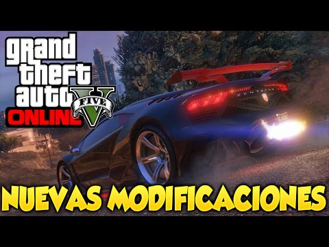 GTA 5 Online Modificaciones de Autos Nitro Luz Neon e Intreriores Grand Theft Auto V Online