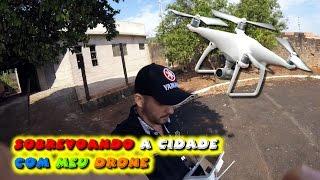 Tony Silva Sobrevoando a cidade com meu drone Phantom 4