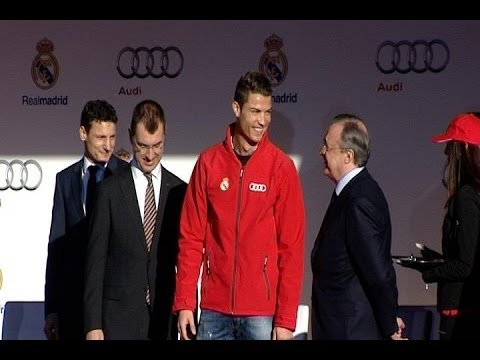 Cristiano Ronaldo receives Audi for this season