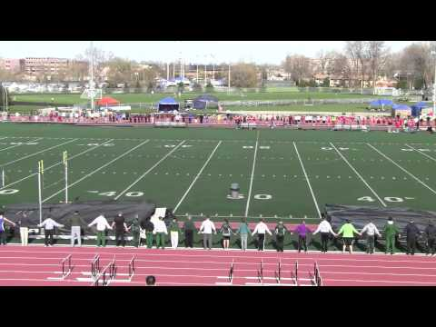 oshkosh lourdes high school track meet.mp4