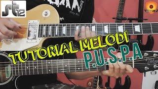 Tutorial Belajar Gitar Melodi ST12 - PUSPA By Sobat P