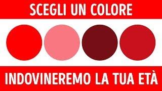 Test sui colori che può rilveare la tua età mentale  Age