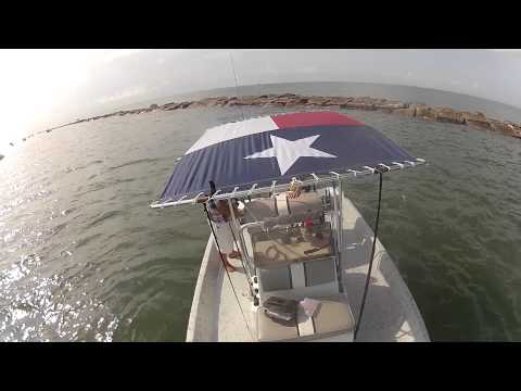 GoPro Fishing: Speckled Trout at South Jetty Galveston