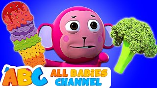 Johny Johny Yes Papa   ICE CREAM Vs BROCCOLI   Nursery Rhymes For Children   Kindergarten Songs