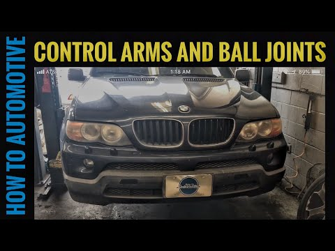 How to Replace the Thrust Control Arms and Ball Joints on a 1999-2006 BMW X5 E53