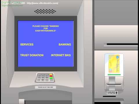 SBI ATM Flash animation movie by Ofek Software Technologies, Kerala