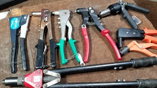 A Riveting Review & Comparison, Professional Hand Riveters
