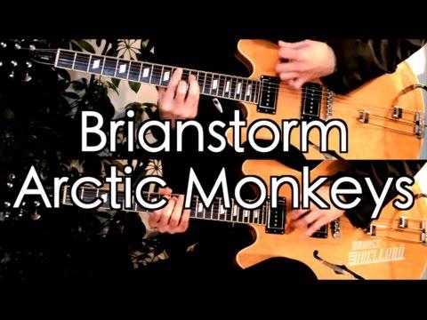 Brianstorm - Arctic Monkeys  ( Guitar Tab Tutorial & Cover )