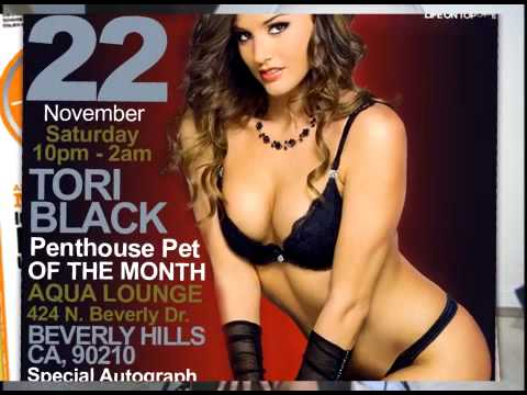 Penthouse Magazine, King Ryan Events, Miss Tori Black video